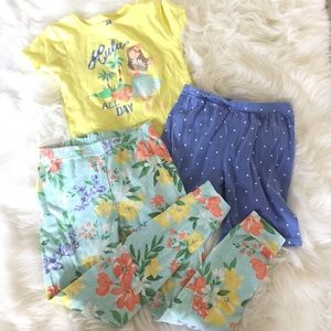 Little girls pajama set